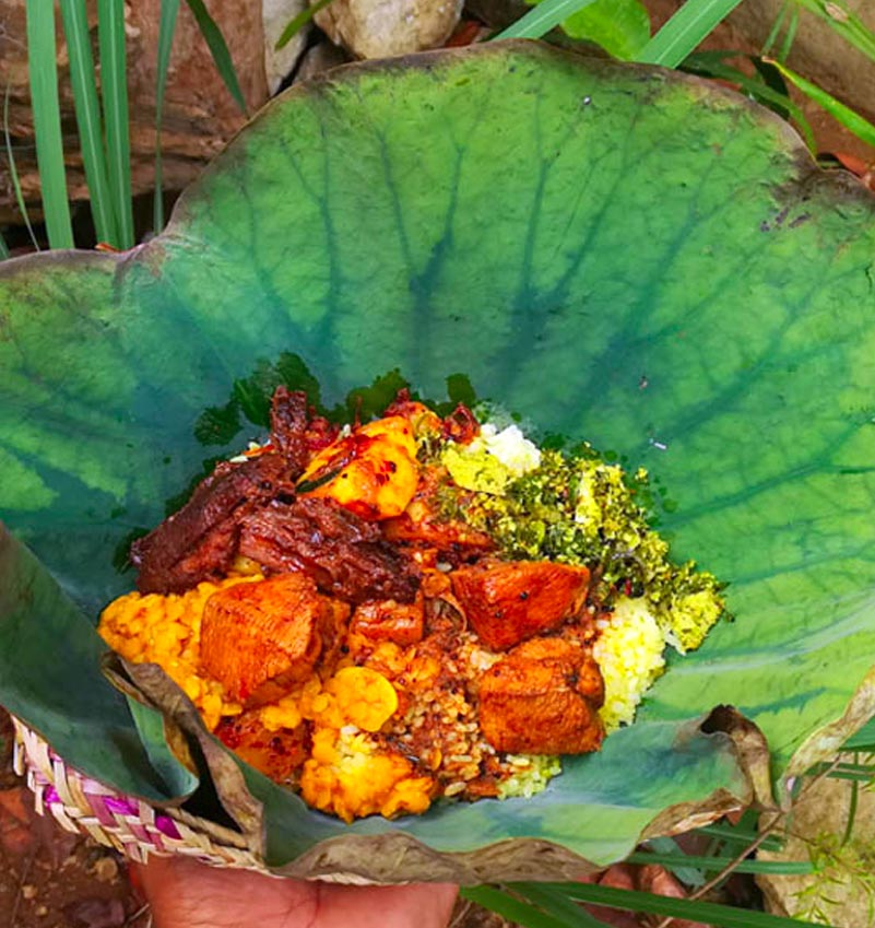 Traditional Sri Lankan Buffet Lunch 1