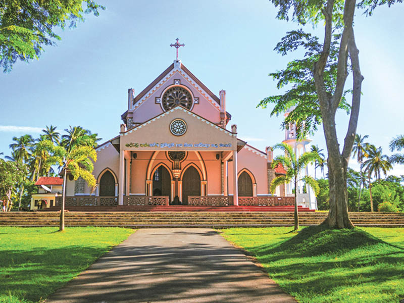 Wahakotte Church 2 - Village Tour Sri Lanka