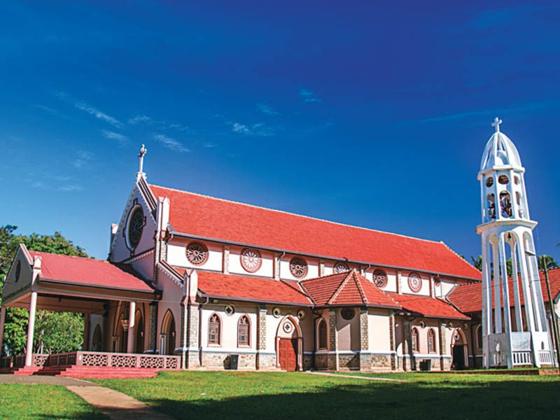 Wahakotte Church 3 - Village Tour Sri Lanka